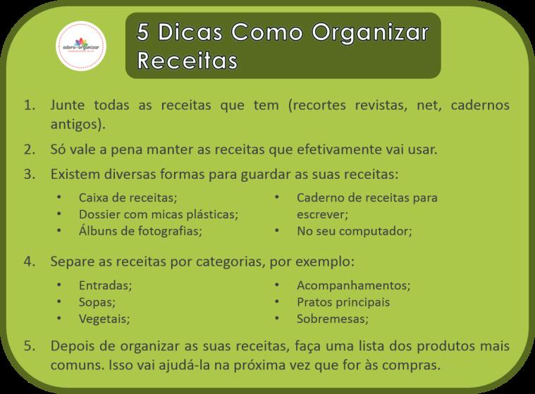 dicas_organizar receitas